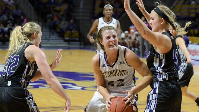 WCU junior Emily Hatfield has worked her way back from injury this season.