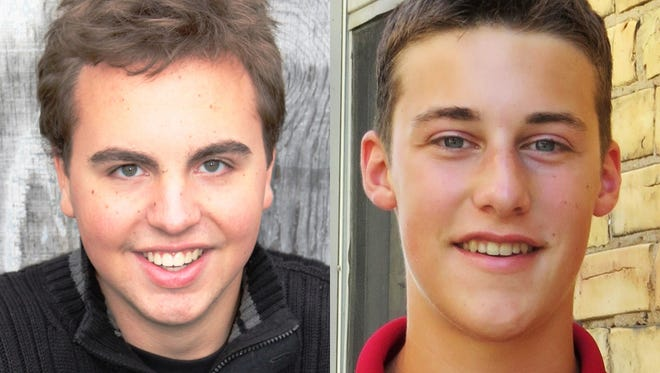 Nicholas Koehn and Nicholas Paustian from Freedom are this week's top scholars.