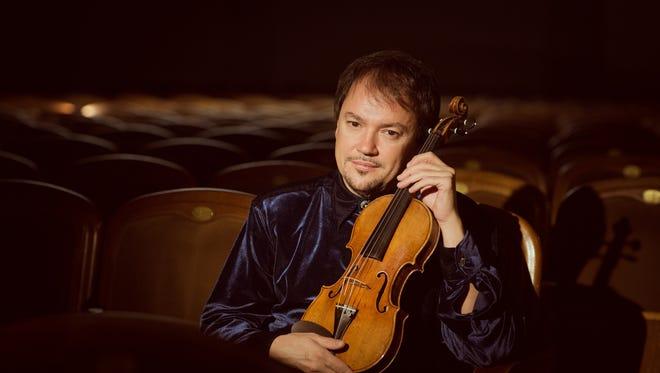 Sergej Krylof debuts with the Monterey Symphony