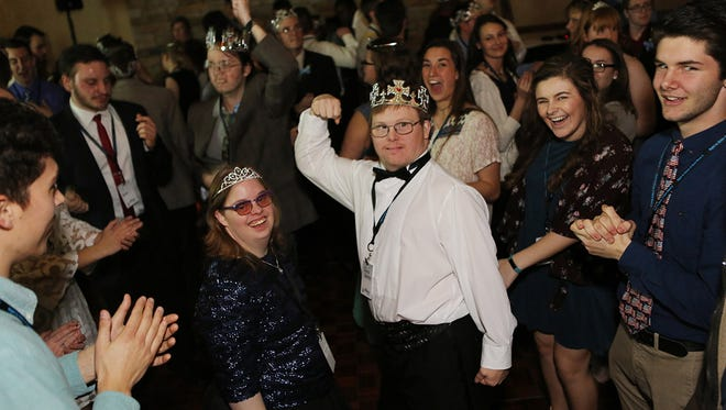 Each special guest of Night to Shine is crowned king or queen of the prom-like event.