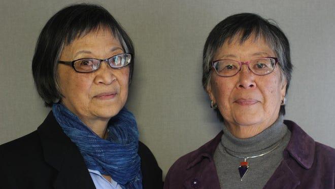 Sisters Peggy Swoveland and Jane Nakayama