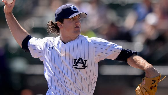 Auburn sophomore starting pitcher Casey Mize will likely