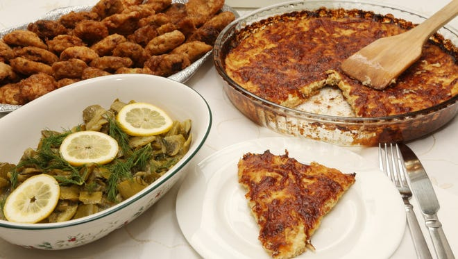 Passover recipes from Emma Alkota of North Bergen, who is originally from Istanbul.