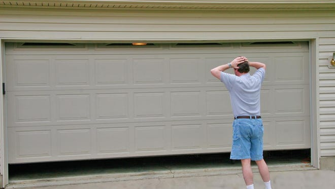Check your garage door before you're in a fix.