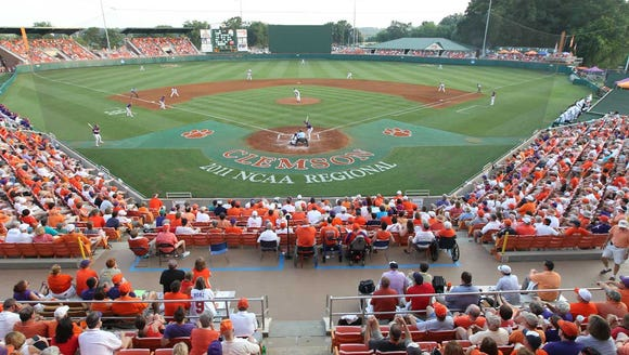 Clemson was the surprise pick for an NCAA Regional