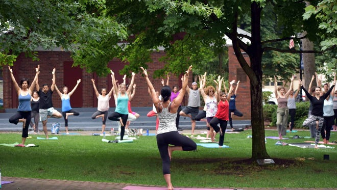Yoga is one activity that may help reduce stress.