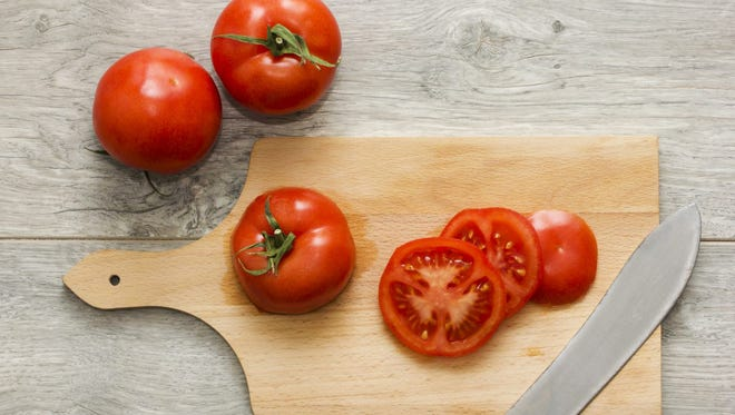 Tomatoes are packed with vitamin A, vitamin C and lycopene.