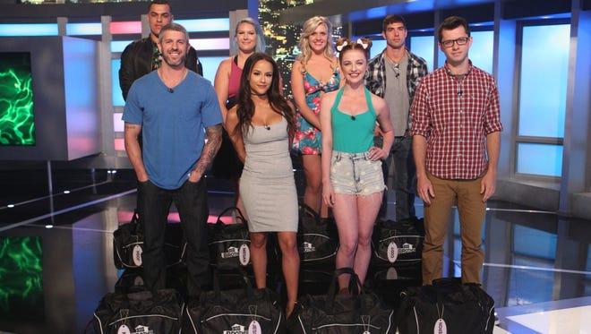 """Big Brother"" houseguests - top row: L-R: Josh Martinez, Megan Lowder, Jillian Parker, Cody Nickson; Bottom Row: L-R: Matthew Clines, Jessica Graf, Raven Walton, Cameron Heard. Season 19 premiered June 28 on CBS."