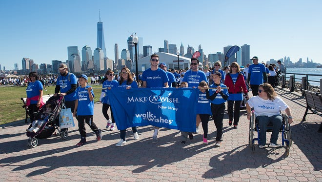 Walk for Wishes at Liberty State Park