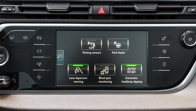 Car features like rearview cameras and parking sensors tend to maintain value.