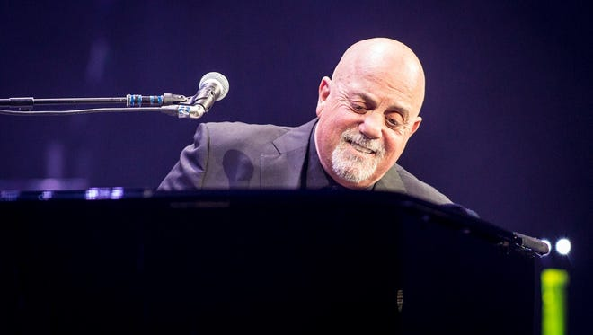 Billy Joel performs Friday at Bankers Life Fieldhouse.
