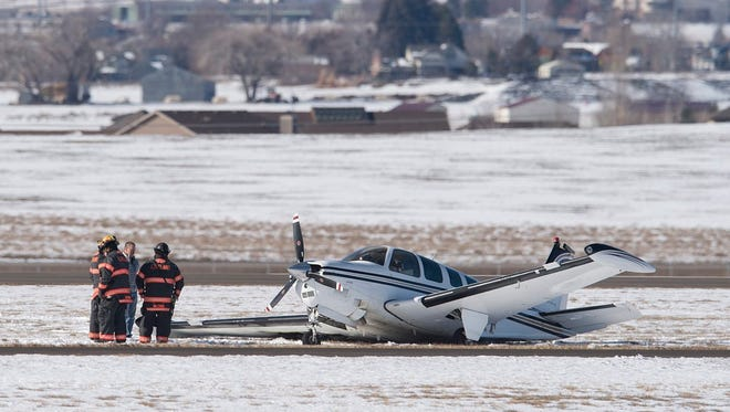 Crews responded to a reported helicopter and plane crash at the Northern Colorado Regional Airport on Friday