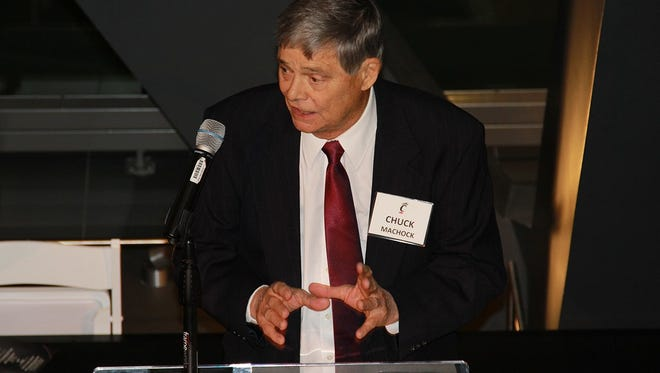 Chuck Machock was inducted into the University of Cincinnati's James P. Kelly Athletics Hall of Fame in 2016 as a contributor.