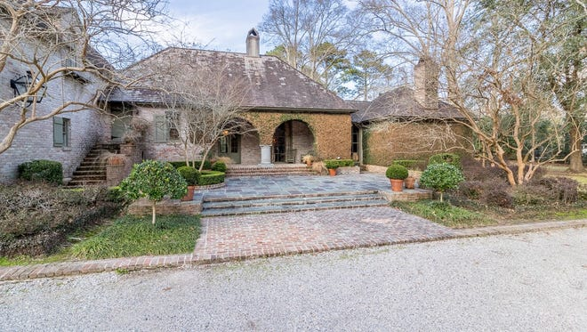 This 4 BD, 31/2 BA home has 4,962 square feet of living area and is located at 2900 The Pines St. in Opelousas. It is listed at $1,750,000.
