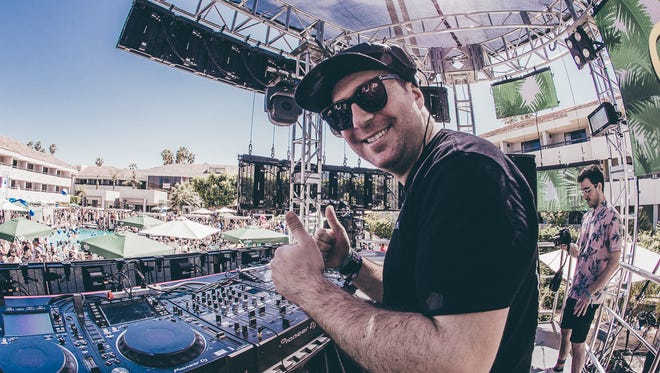 Justin Martin will perform April 13 at Day Club with AC Slater Presents Night Bass