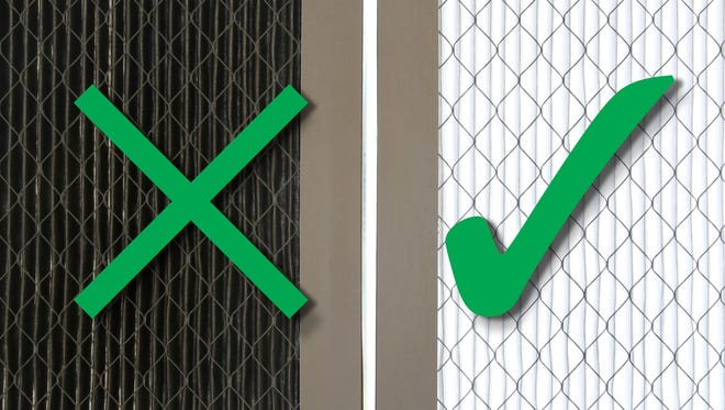 Changing your air filter will make your home air healthier and save you money.
