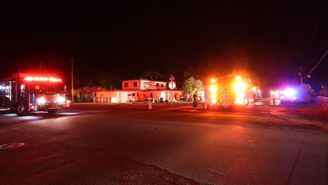 Immokalee firefighters responded to a structure fire on North Sixth Street early Tuesday. No one was hurt. Twenty-five residents were displaced.