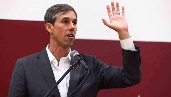U.S. Rep. Beto O'Rourke, who is seeking to unseat Ted Cruz in the U.S. Senate, has long said he would not accept corporate PAC or super PAC money to his campaign.
