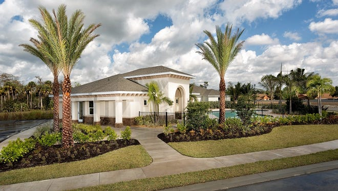 KB Homes' Coves of Estero Bay offers nine floor plans and with move-in ready homes available.