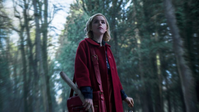 """Netflix's """"Chilling Adventures of Sabrina"""" is out on Friday."""