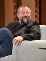 Vice founder and CEO Shane Smith speaks onstage in