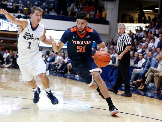 Darius Thompson transferred from Virginia to Western Kentucky for his final season.