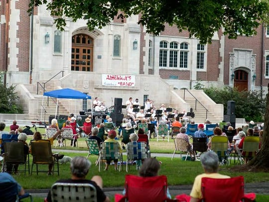 The Big Band from America's Hometown Band will present its annual Jazz on the Terrace concert at 7:30 p.m. July 20 on the Ball State University Quad,