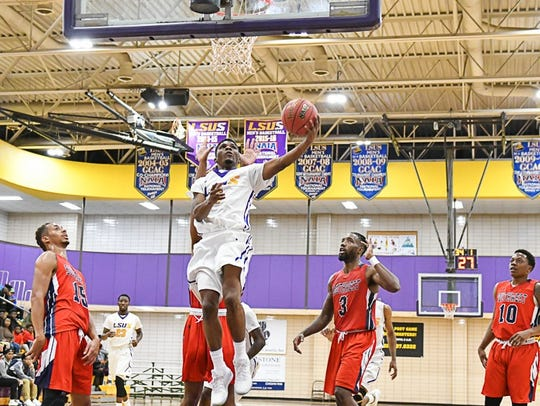 LSUS guard Stevie Clark is the RRAC scoring leader