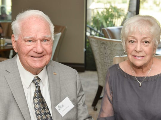 Honorary Chair Evans Crary Jr. and Margaret Crary at