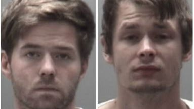 Zachary Ryan Brown and Travis James Morton faces charges in connection with an Eaton County break-in.