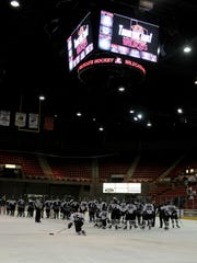 Wichita Falls Wildcats thanked the fans after the playoff