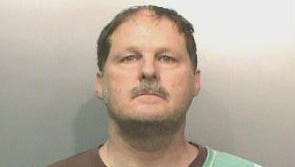 Eric Reece Wiethorn, 49, of Ames was arrested for first-degree harassment.