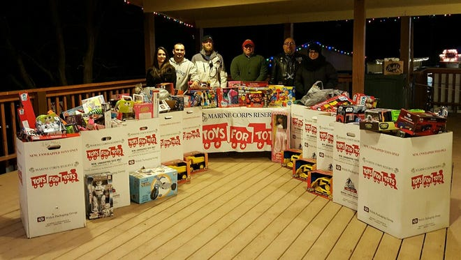 Toys For Tots director Victor Montes said  the best year the organization has ever seen.