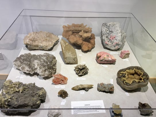 The Lafayette Science Museum has a geology exhibit.