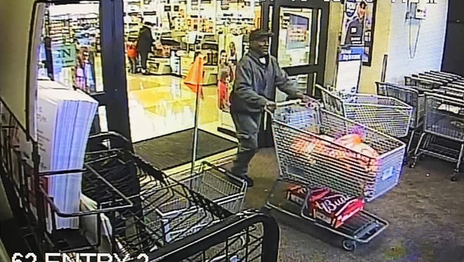 The Gallatin Police Department is looking for information on two suspects in connection to a theft and vandalism at Walmart in Gallatin which occurred Sept. 22.