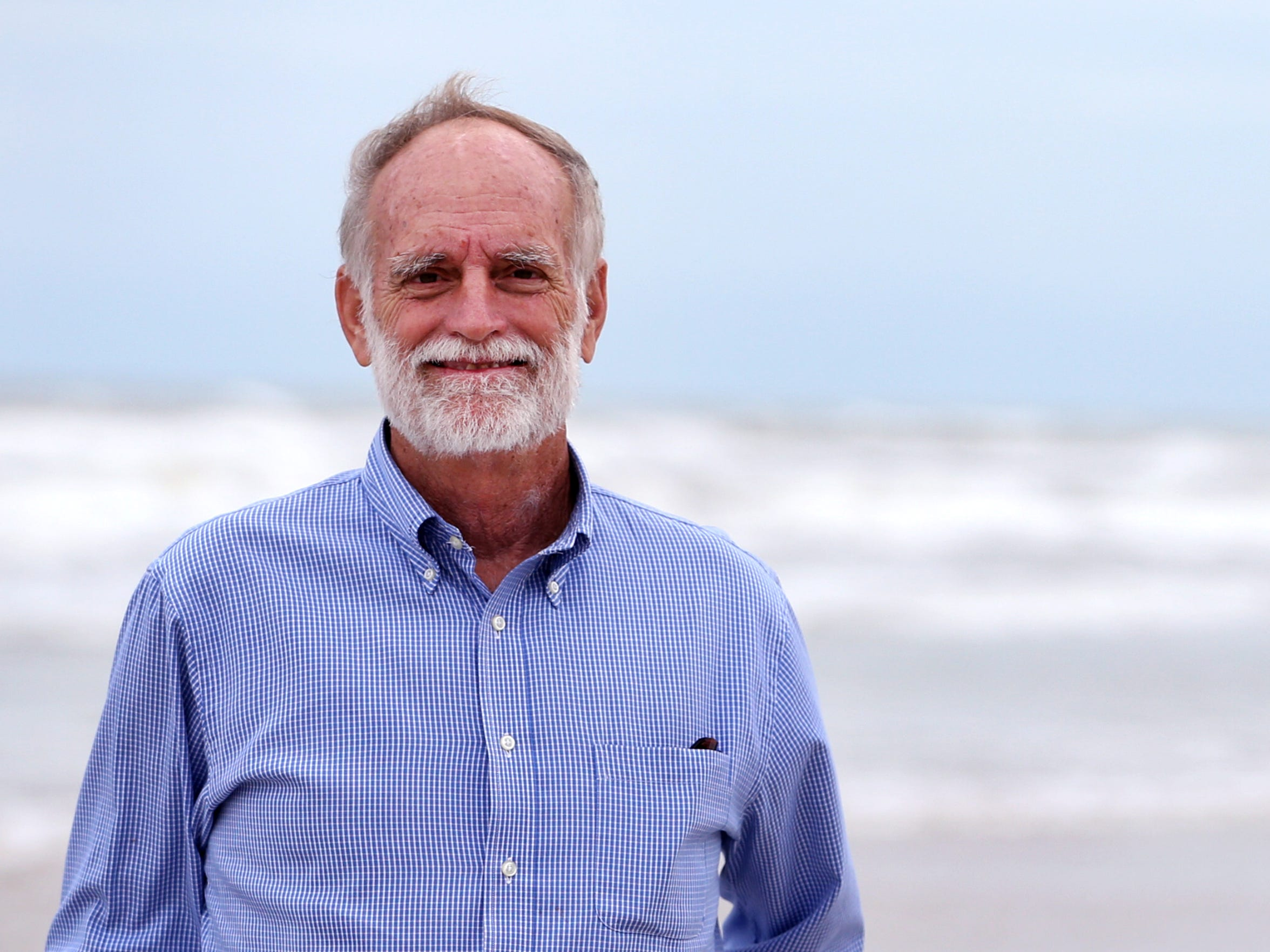 Greg Smith is the new council member who will be representing District 4. (Photographed at the beach near Whitecap 12/1/16.)