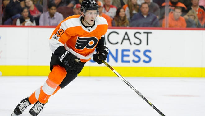 Young legs like that of 19-year-old rookie Nolan Patrick have helped the Flyers become a fast team.