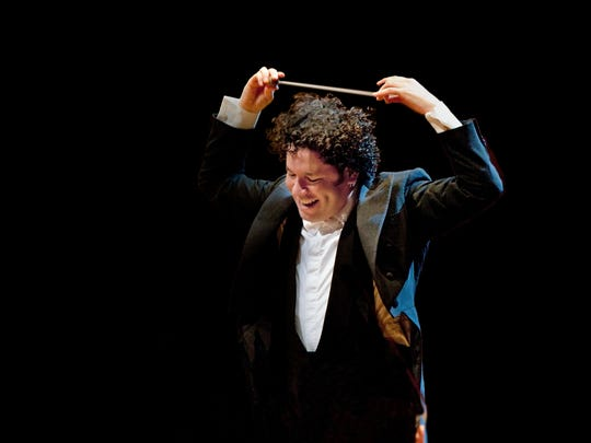 Gustavo Dudamel, who conducts the Vienna Philharmonic at Artis-Naples next year