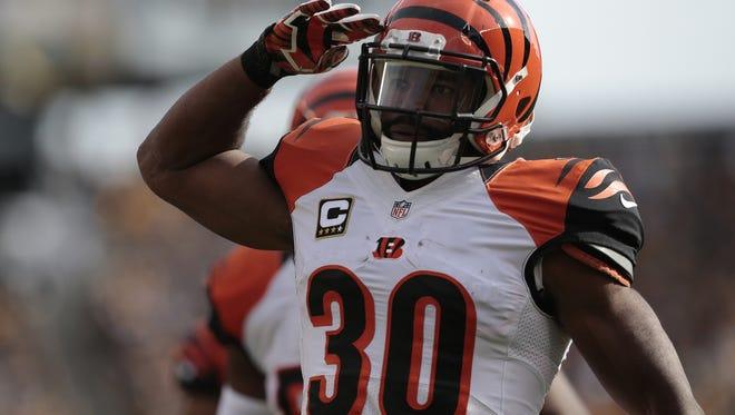 Cincinnati Bengals running back Cedric Peerman has been a big part of the successful coverage units on special teams.