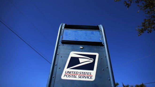 U.S. Postal Service mailbox