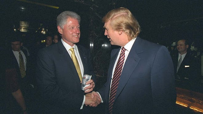 Bill and Donald in 2000.