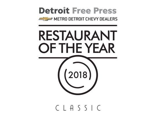 Restaurant of the Year logo