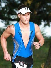 Randall Wood won the 2014 Cereal City Triathlon.