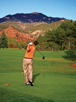 Breath-taking views of the Rockies are among the natural wonders surrounding the Broadmoor in Colorado Springs.