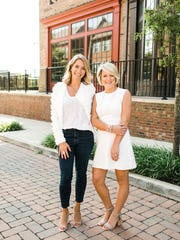 The Social Chair owner Jessica Shields, left, stands