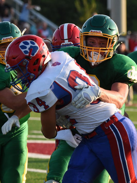 Newark Catholic 21, Licking Valley 7