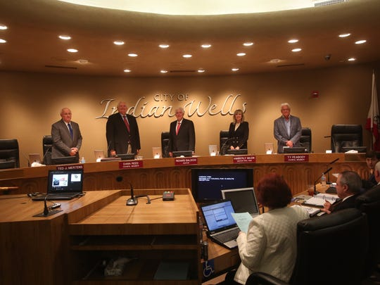 The Indian Wells City Council on Thursday adopted budgets for fiscal years 2017-18 and 2018-19, each showing a general fund surplus of more than $2 million after expenditures.