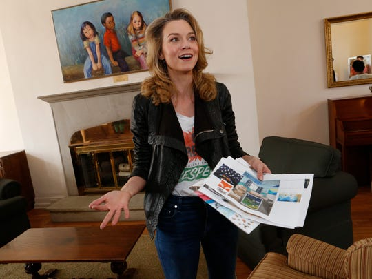Actress Hilarie Burton and her husband, fellow actor Jeffrey Dean Morga,n are leading efforts to renovate the Astor Services for Children and Families in Rhinebeck on Apr. 11, 2017.  The renovations will start with the 4 existing wings of the facilities with the goal to raise funds to build a whole new wing.