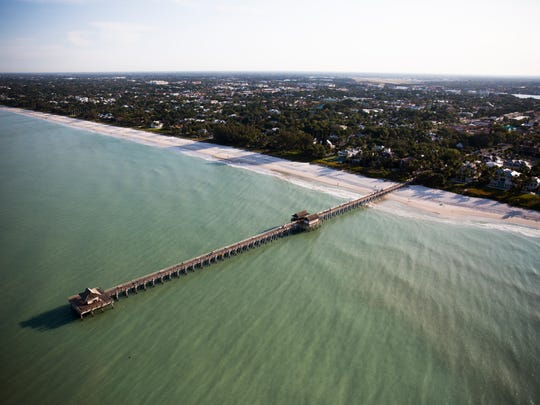 The Naples Pier in Downtown Naples on Friday, March