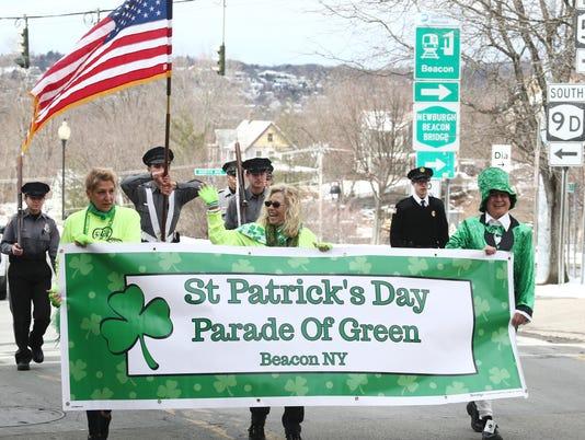 Beacon St Patrick's Parade of Green